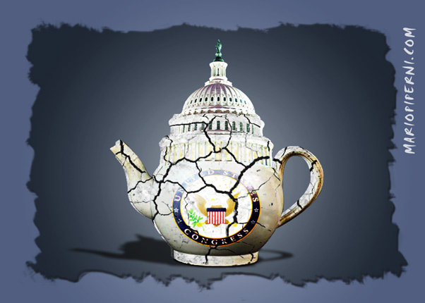 Burned On A Teacup The Obama Diary