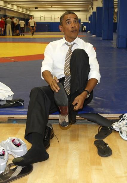 Shine President Obama S Shoes