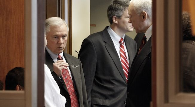 Jeff Sessions, Orrin Hatch