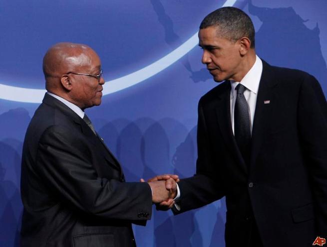 Obama-and-president-Zuma