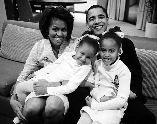 president-obama-his-family