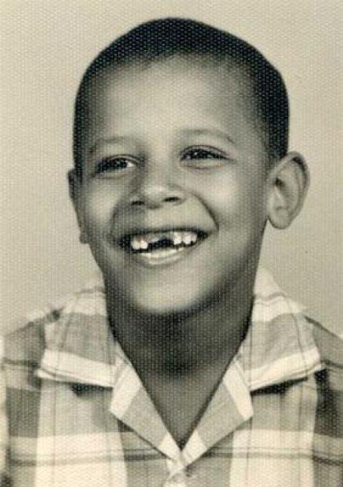 Child Barack Obama Happy Birthday Mr. Pre...