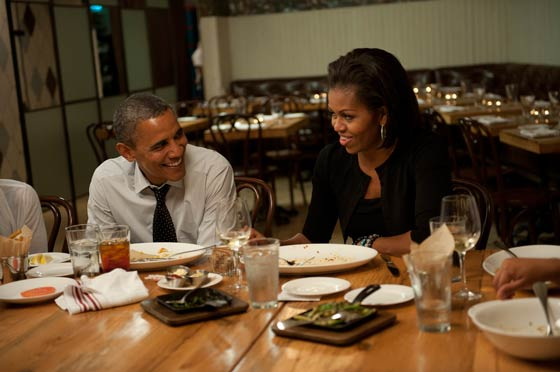 Barack and Michelle full