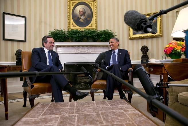 Barack+Obama+President+Obama+Meets+Greek+Prime+d6k7FYVJJkYx