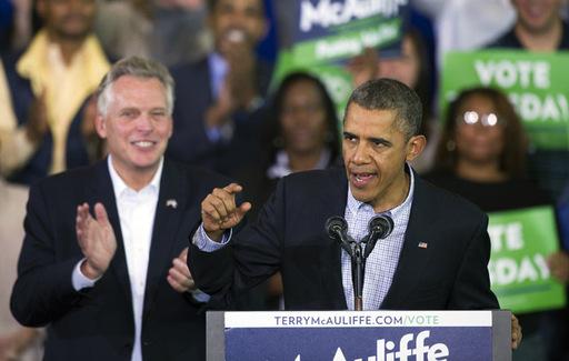 Va Governor Obama