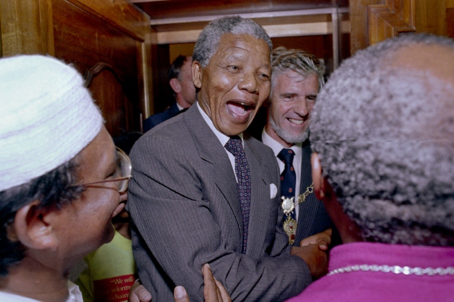 Nelson Mandela After His Release