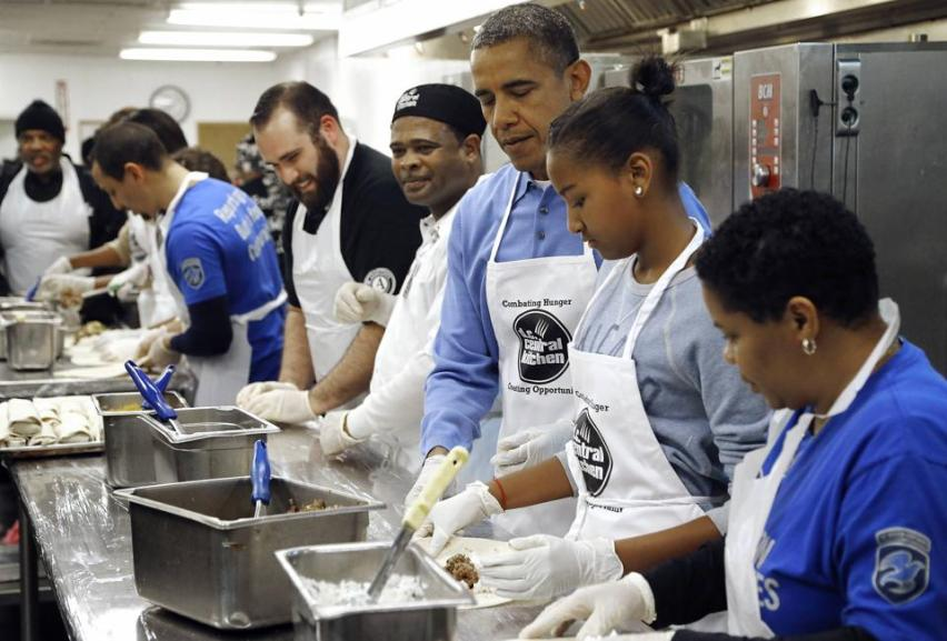 DC Central Kitchen | The Obama Diary