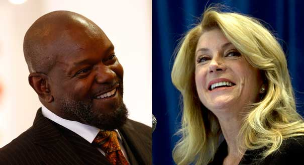 140201_emmitt_smith_wendy_davis_ap_328