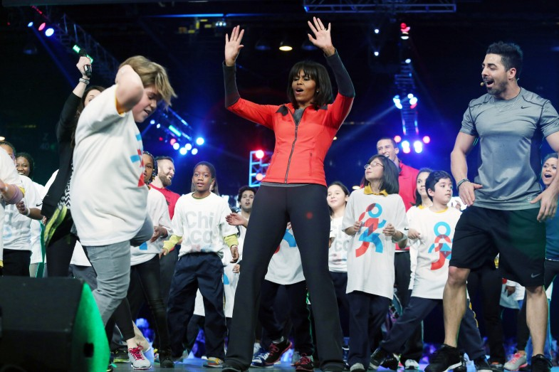 Michelle Obama Campaigns To Bring More Physical Activity Back To Schools