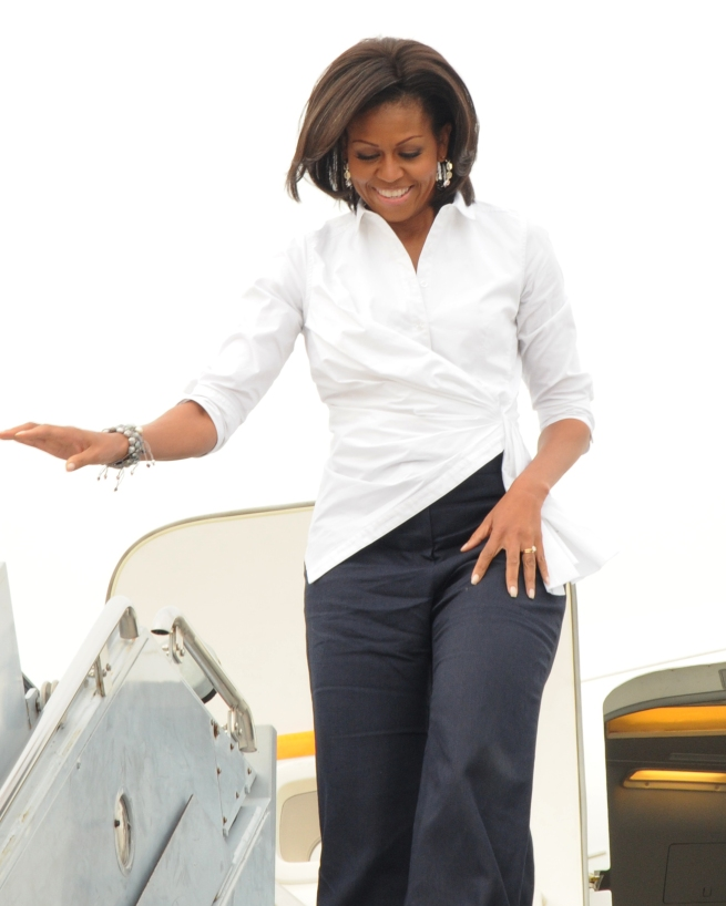 Digging up dirt on Michelle Obama