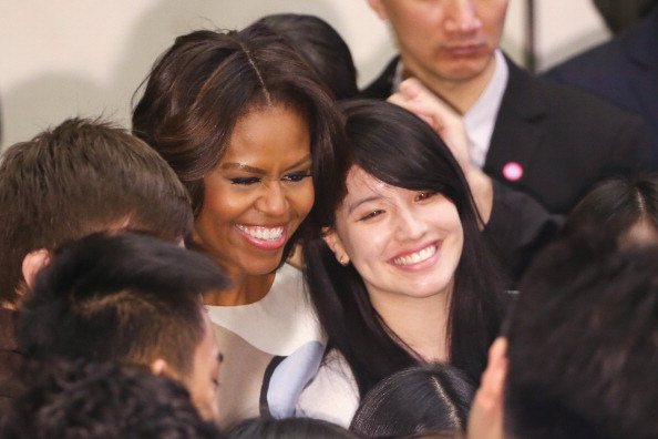 First Lady Michelle Obama Travels to China - Day 3