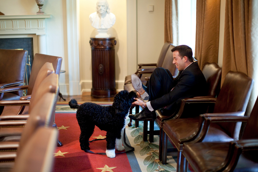 2010 | air jordan 6 carmine outlet. White House Deputy Director of Oval Office Operations Brian Mosteller attempts to protect his shoes as