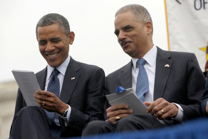 Barack Obama, Eric Holder