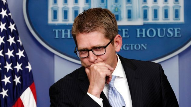 051413-politics-tough-day-to-be-jay-carney-press-conference