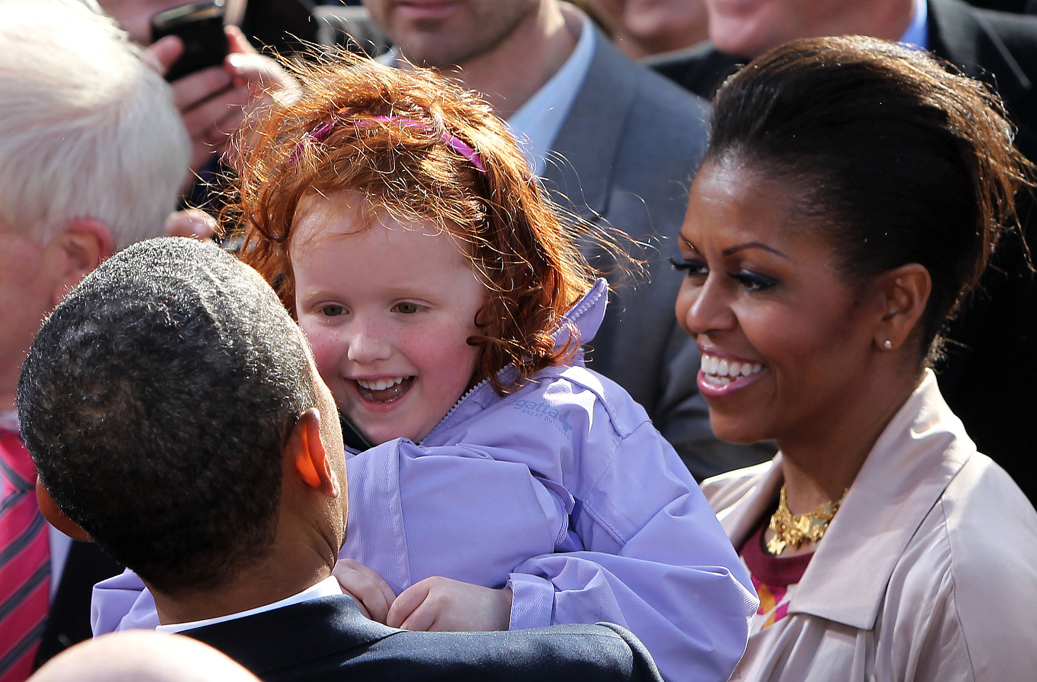 Barack And Michelle Obama Young Rise and Shine | The O...