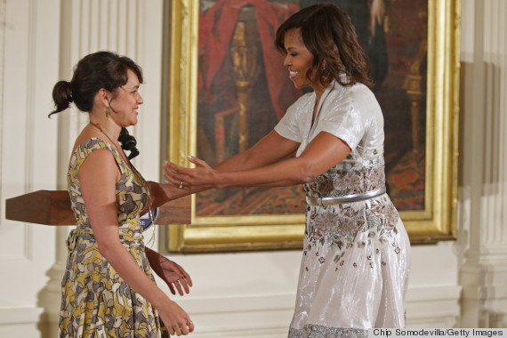 First Lady Michelle Obama Celebrates Moms | The Obama Diary