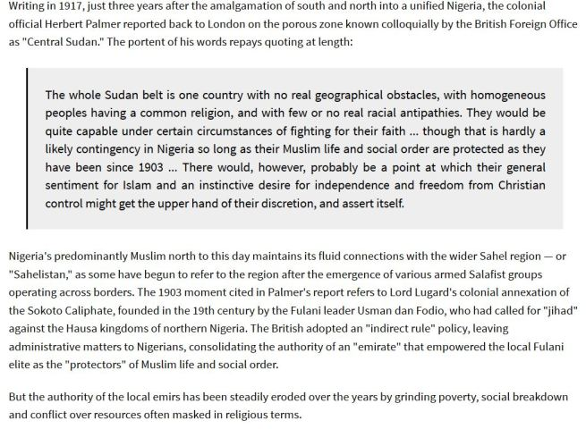 Roots of Boko Haram