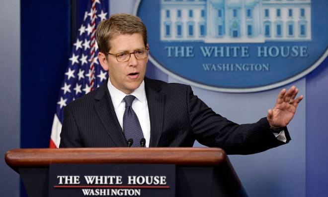 white-house-press-secretary-jay-carney-confirmed-that-a-letter-sent-to-president-obama-tested
