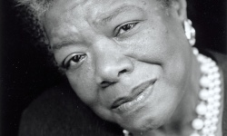 Maya Angelou. 'She was special, she was rare.'