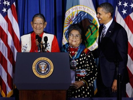 Obama Hosts White House Tribal Nations Conference