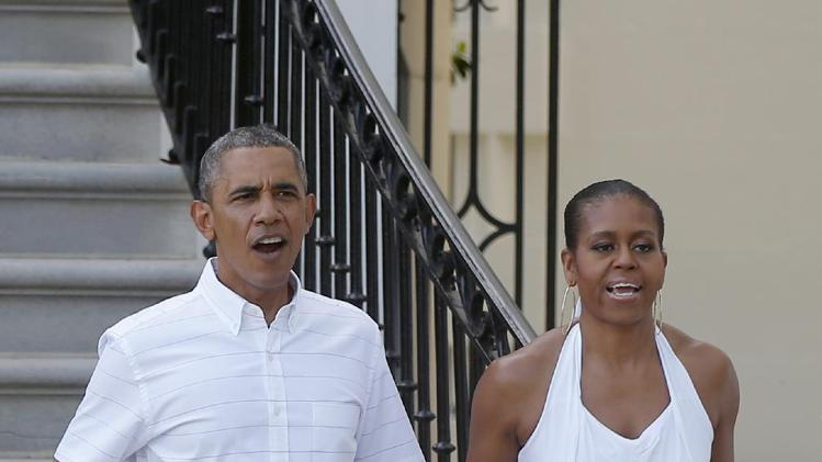 the obamas celebrate fourth of july the obama diary