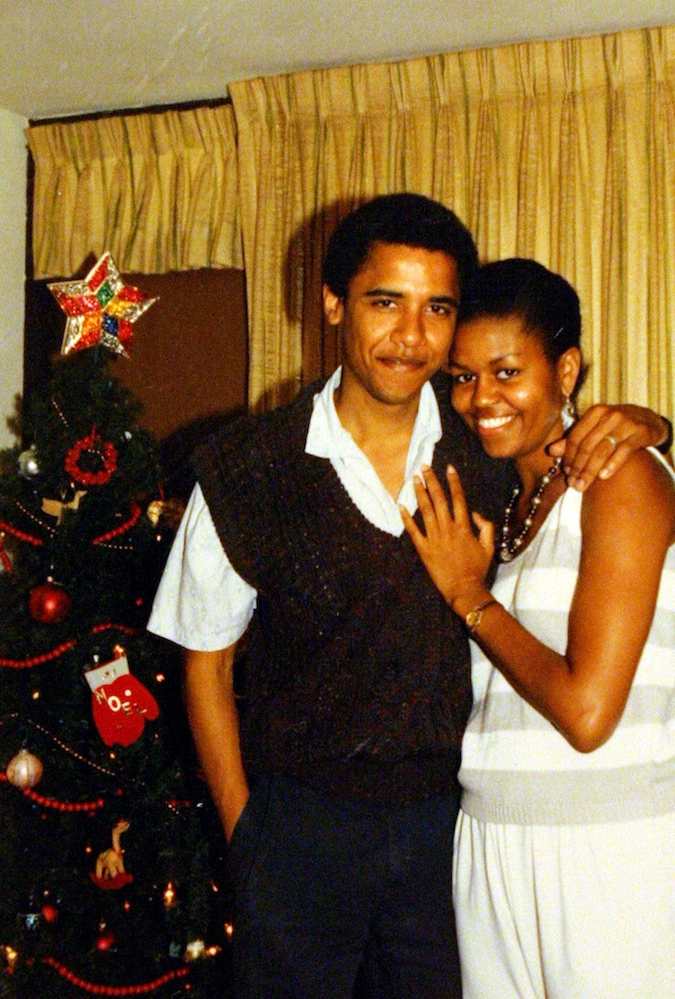 Barack and Michelle spending Christmas in Hwaii