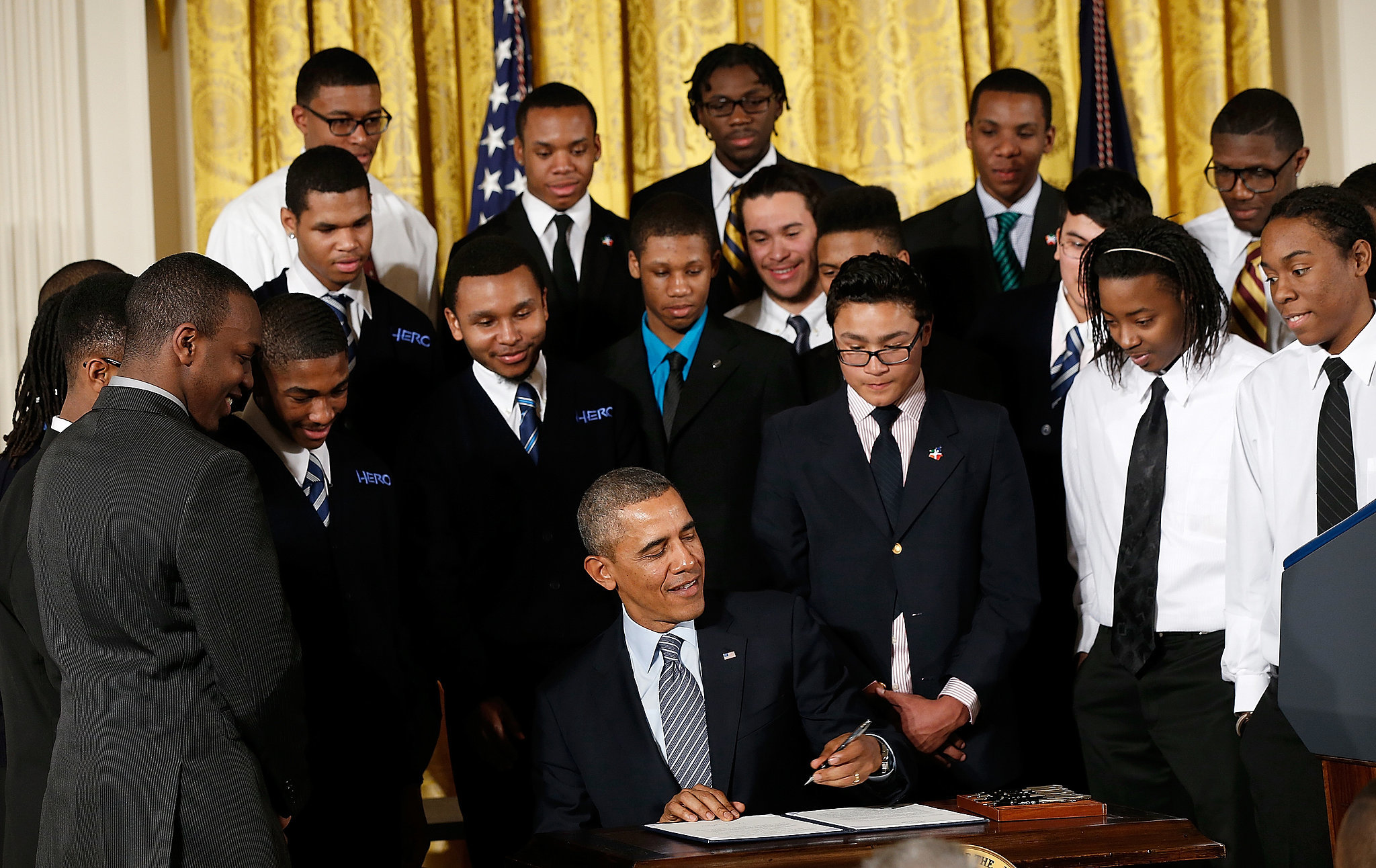 President-Obama-spoke-about-My-Brother-Keeper-initiative