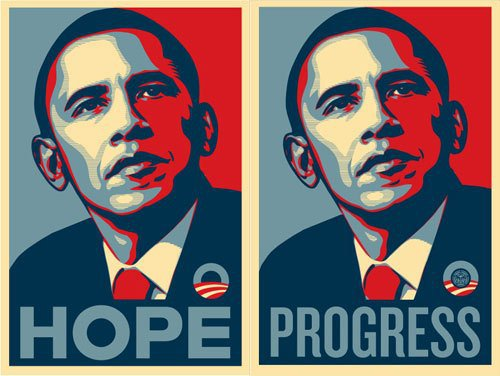 Obama Hope Progress