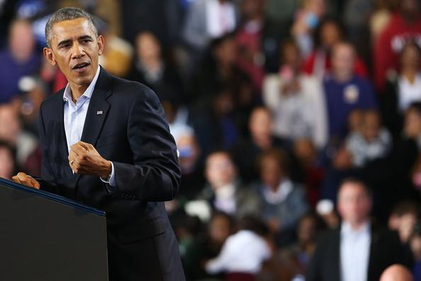 Barack+Obama+President+Obama+Attends+Rally+7VEaXrZhIJbl
