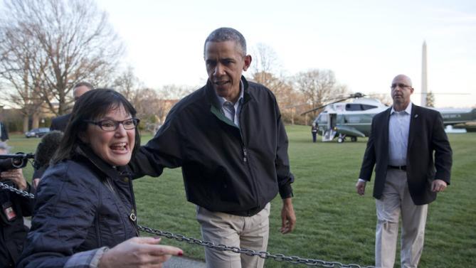 Barack Obama, Terri Bonoff