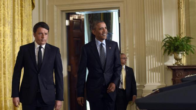 Barack Obama, Matteo Renzi