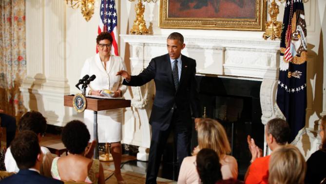 Barack Obama, Elizabeth Alexander