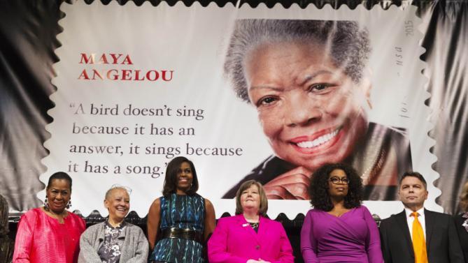Michelle Obama, Oprah Winfrey, Megan Brennan,  Eleanor Traylor, Nikki Giovanni, Ross Rossin