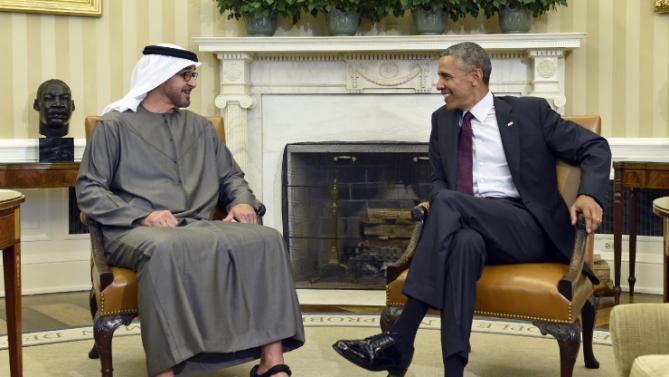Barack Obama, Mohammed bin Zayed bin Sultan Al Nahyan