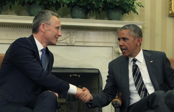 Barack+Obama+President+Obama+Meets+NATO+Secretary+fGThZZnzJ8Bl