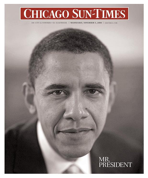 Chicago Sun Times Obama