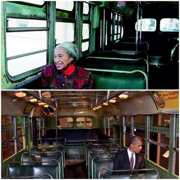 Rosa Parks Obama
