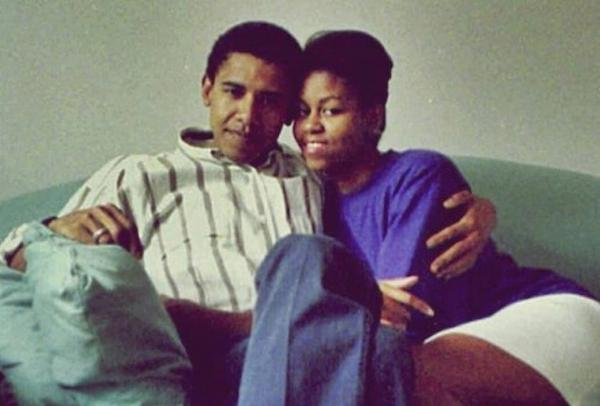 Barack-Michelle-Obama-Young-Wedding-Dating-Photo-3