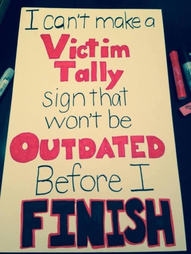 victim tally