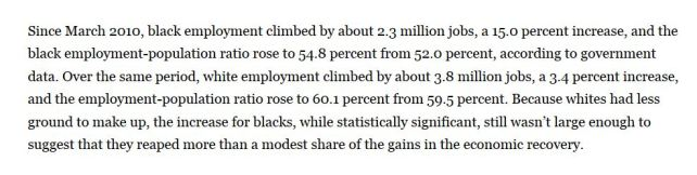 RAte of Black unemply recovery