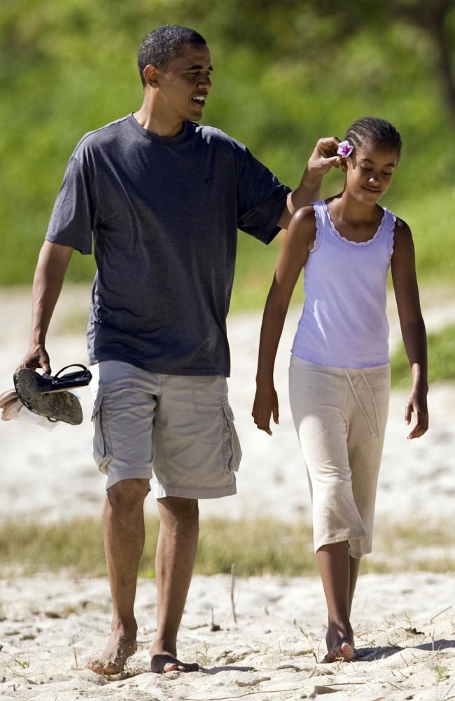 Congratulate, the Barack obama daughters consider