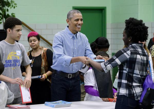 Barack+Obama+Washington+DC+Commemorates+Martin+oPfjVuDcjaPl