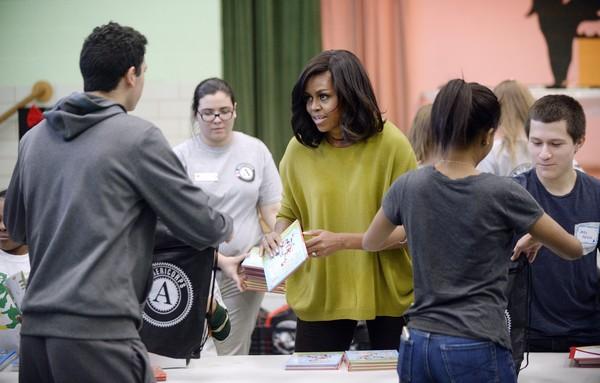 Michelle+Obama+Washington+DC+Commemorates+8o1K01nqi49l