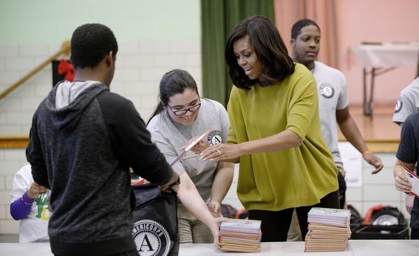 Michelle+Obama+Washington+DC+Commemorates+EFyQepYB3Hnl