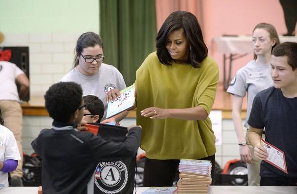 Michelle+Obama+Washington+DC+Commemorates+kXS-0dAbBU0l