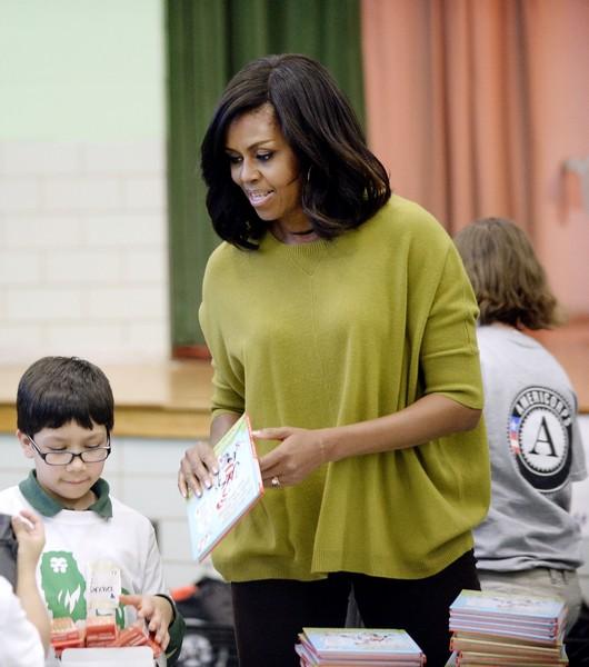 Michelle+Obama+Washington+DC+Commemorates+qdp9NhBk1iLl