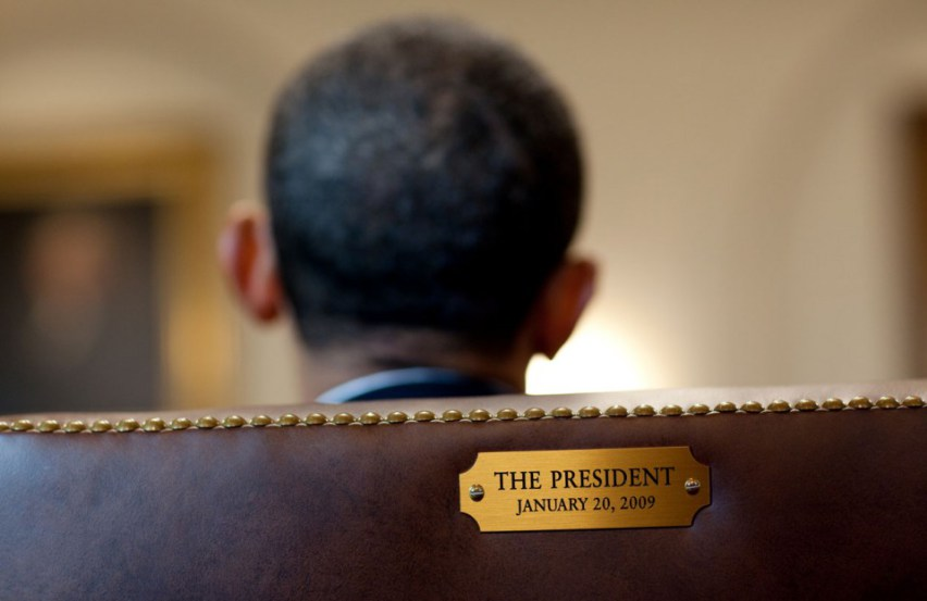 president-obama-meets-with-members-of-his-cabinet-in-the-cabinet-room-of-the-white-house-on-january-29-2010-the-presidents-chair-is-marked-with-a-plaque-engraved-with-the-date-of-his-in