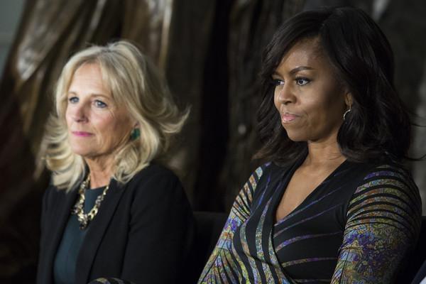 Michelle+Obama+Michelle+Obama+Jill+Biden+Attend+0p8SZXvylkdl