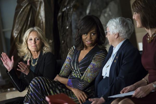 Michelle+Obama+Michelle+Obama+Jill+Biden+Attend+fLzjCYVTQk8l