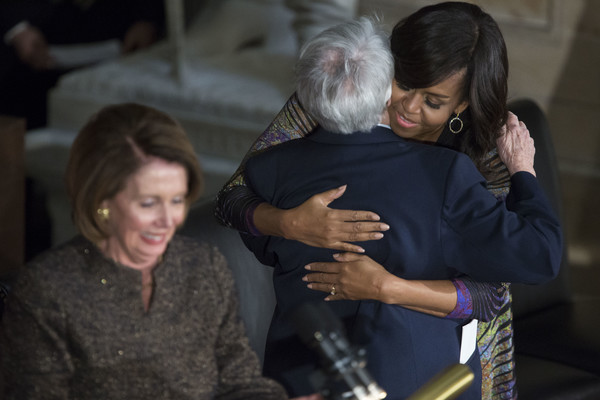 Michelle+Obama+Michelle+Obama+Jill+Biden+Attend+O0N5FLebQYnl